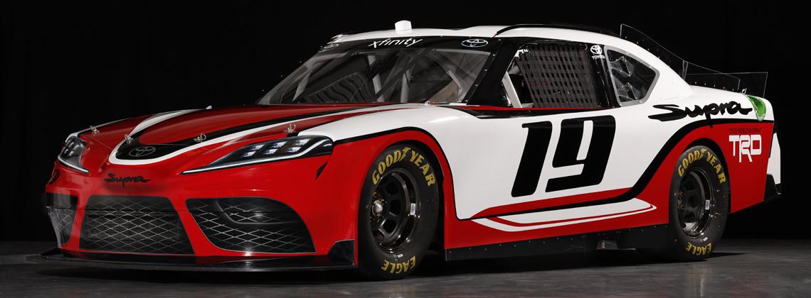 27/11/2018 Toyota Supra примет участие в гоночном чемпионате NASCAR 2019 года